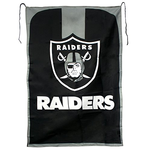 Oakland Raider Costume (NFL Oakland Raiders Team Fan Flag, 31.5 x 47-Inches, Black)