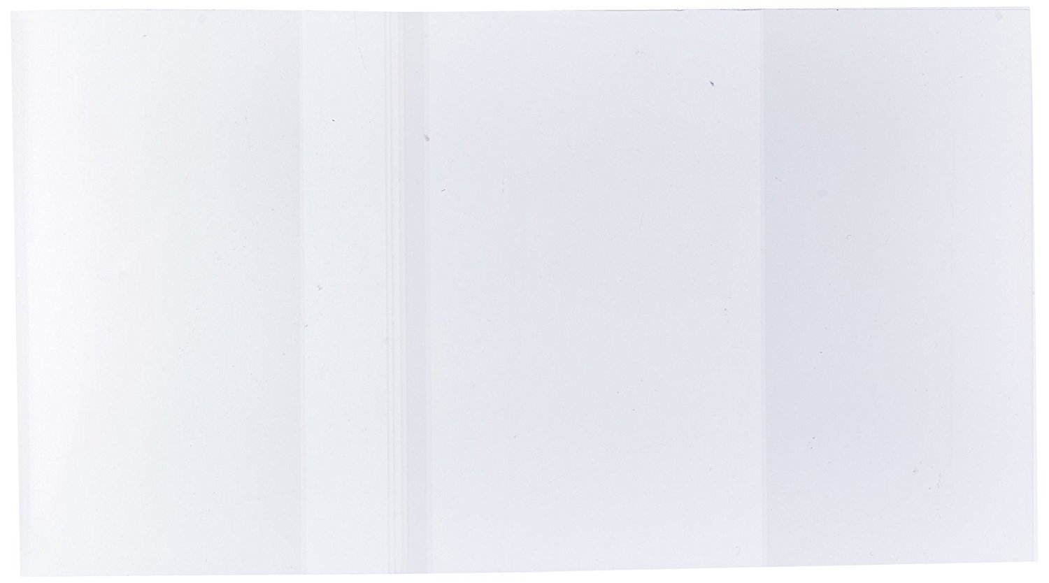 ClearBags 10.5x19.5 Clear Book Covers | For 10.25 Tall,19.5 Wide | Protect Against Wear, Tear Water | Archival Safe Acid Free | BC101H (Pack of 25)