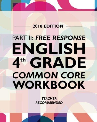 Argo Brothers English Workbook, Grade 4: Common Core Free Response ...