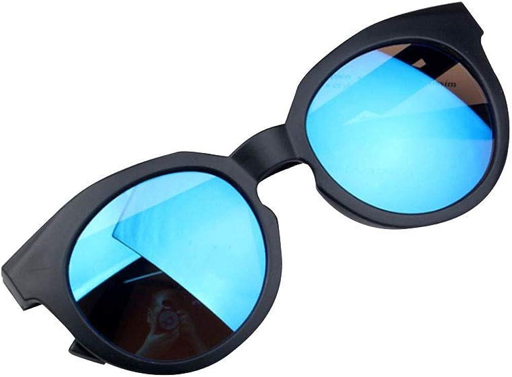 OUlike Ragazzi Ragazze Occhiali da Sole Ombre Lenti Luminosi UV400 Protezione Occhiali da Sole Colorato Caramella Bambino Spiaggia Giocattoli 2-8Y