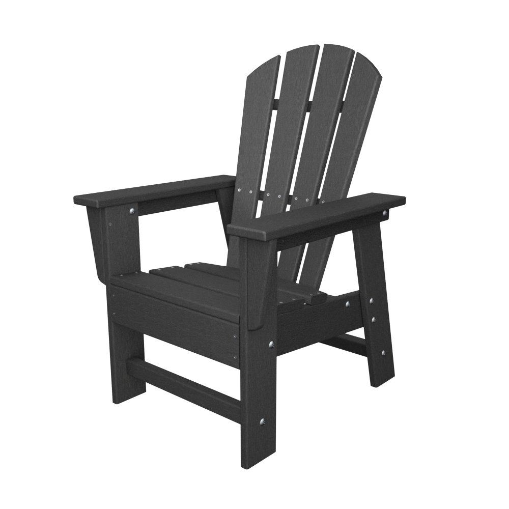 Polywood SBD12GY South Beach Slate Gray Kids Casual Chair