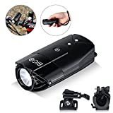 LED Bike Lights BIGO USB Rechargeable Bike Front Light 900 Lumens Super Bright Bicycle Lights Bike Headlight IP65 Waterproof 3 Light Modes Easy To Install for Cycling Safety Flashlight