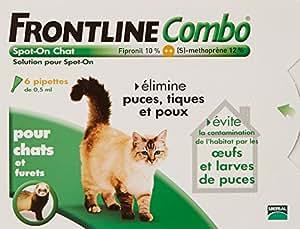 Merial - Gatos - COMBO FRONTLINE - Cat - 6pip - Anti-pulgas y anti-garrapatas