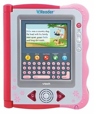 Vtech - Vreader Animated E-book System - Pink by V.Reader