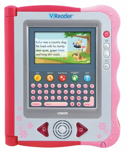 VTech - V.Reader Animated E-Book System - Pink (A Word That Starts With J)