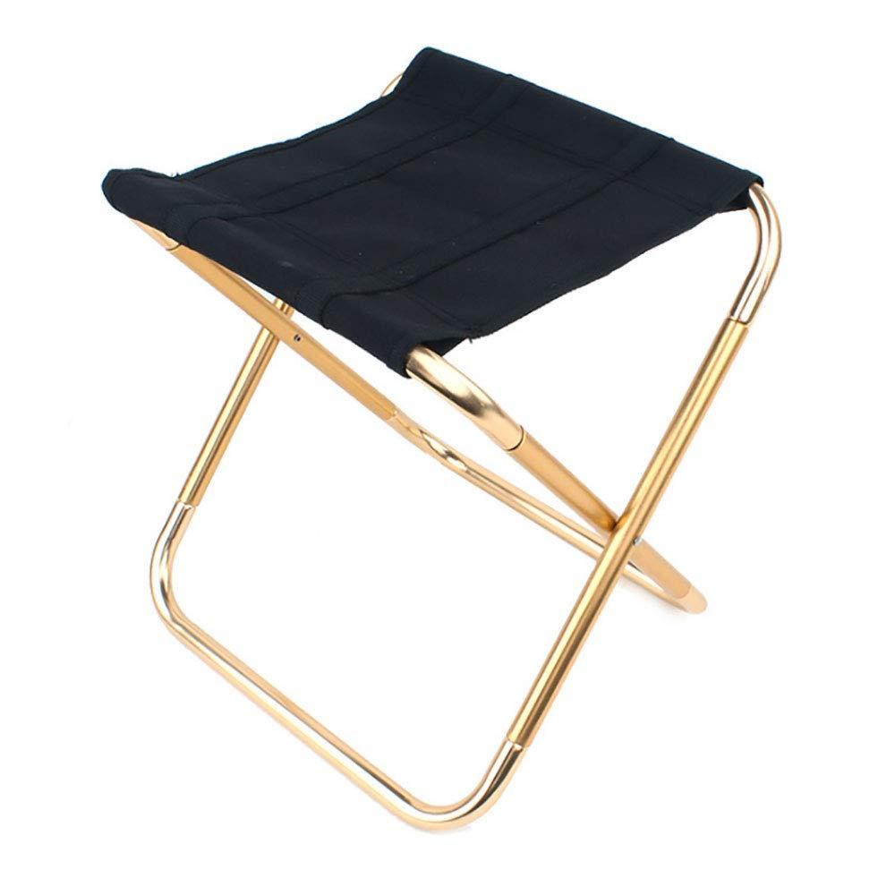 Chaise de Voyage Pliable Camping randonn/ée sp/écial Petit Cheval Tabouret de Camping Pliable JACKBAGGIO Mini Tabouret de Camping l/éger Chaise de Camping Taille 248 mm x 225 mm x 270 mm