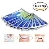 Teeth Whitening Strips 28 Pcs, Dental Care Kit, iFanze Professional Tooth Bleaching Gel Strip, Remove Teeth Deep and Surface Stains 14 x 2 Pcs