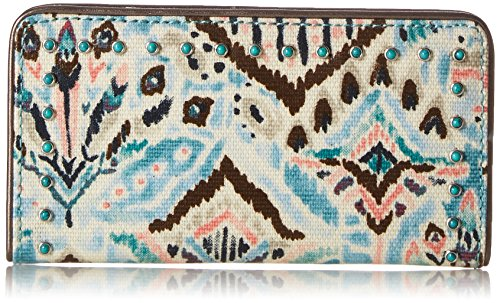Artist Circle Slim Wallet Wallet, TURQ BB, One Size