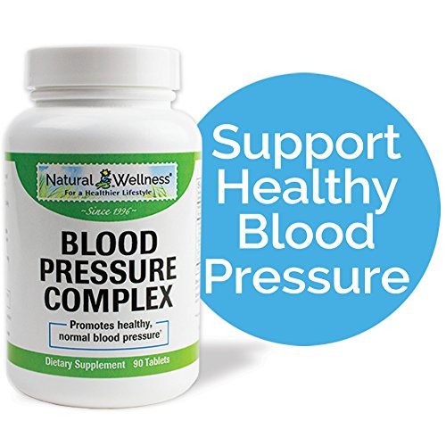 Natural Wellness Blood Pressure Complex - 90 Tablets