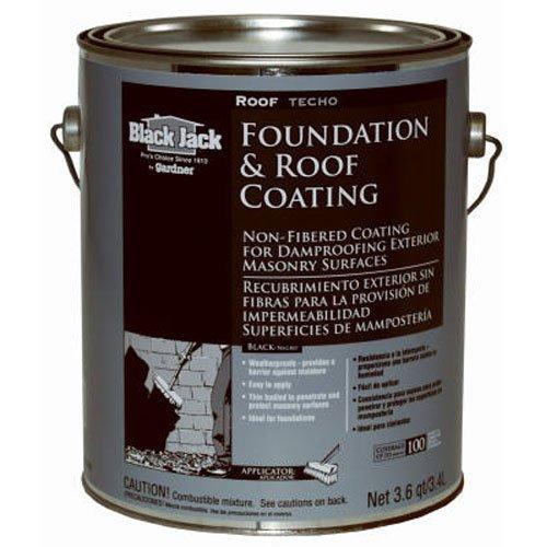 Asphalt Coating (GARDNER-GIBSON 6025-9-34 3.6QT NF Roof Coating)