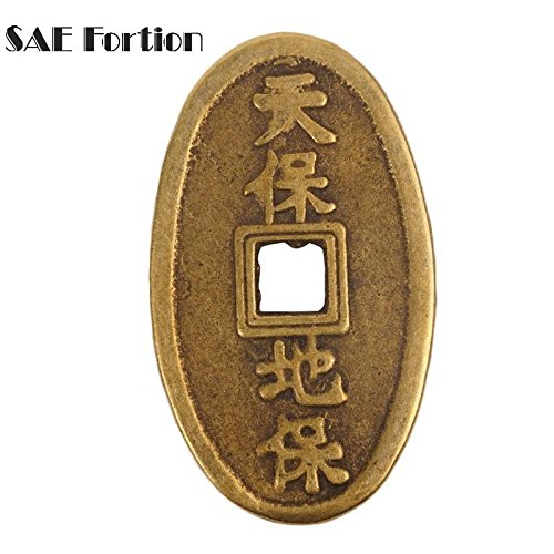 STAR-FIVE-STORE - SAE Oval Chinese Characteristics Gold Collecting Commemorative Coin Home Decor Collection Value Anniversary Coin JNB8706 -