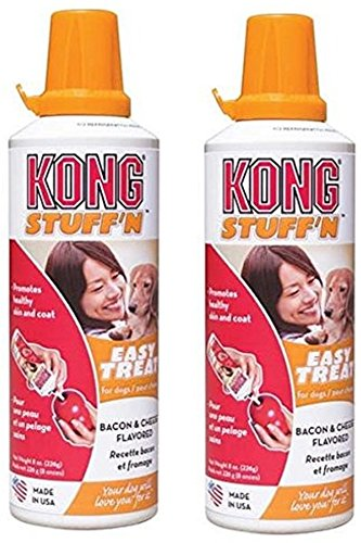 KONG Stuff N Paster Bacon/Cheese 8oz(2Pack) (Treat Vitamin Paste)