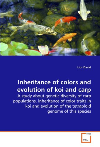 Inheritance of colors and evolution of koi and carp: A study about genetic diversity of carp populations, inheritance of color traits in koi and evolution of the tetraploid genome of this species