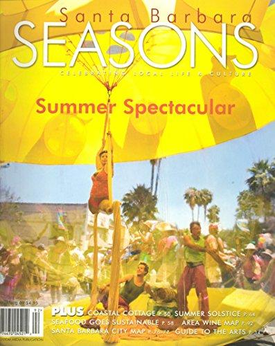Santa Barbara Seasons Magazine, June July August - Solstice Barbara Santa