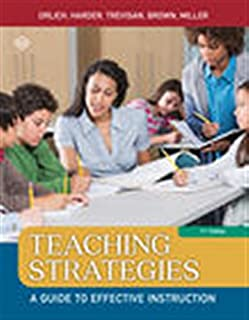 Teaching Strategies: A Guide to Effective Instruction (1305960785)   Amazon price tracker / tracking, Amazon price history charts, Amazon price watches, Amazon price drop alerts