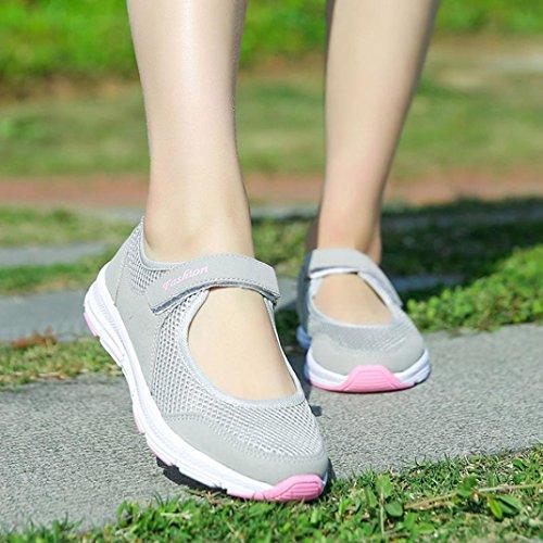 Estive Corsa Beautyjourney Grigio Basse Sneakers Donna Sportive Sandali Da Ginnastica Scarpe Estate Eleganti TqwTz0Z