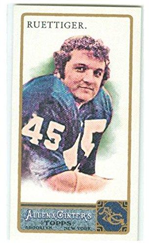 Rudy Ruettiger football card (Notre Dame Fighting irish) 2011 Topps Allen Ginters #238 - 2011 Football Cards