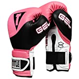 Title Boxing GEL Suspense Training Gloves, Pink/Black, 12 oz