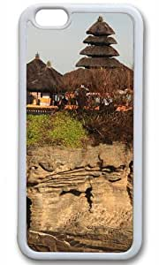 Bali Island Temple of The Sea Case for iPhone 6 Plus TPU White by Cases & Mousepads