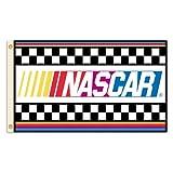 NASCAR with Stripes 3 x 5-Feet Flag with Grommets