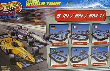 Amazon Com Hot Wheels Formula Word Tour Ho Slot Car