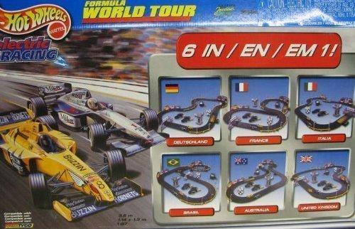 Tyco Formula Word Tour HO Slot Car Electric Racing Set