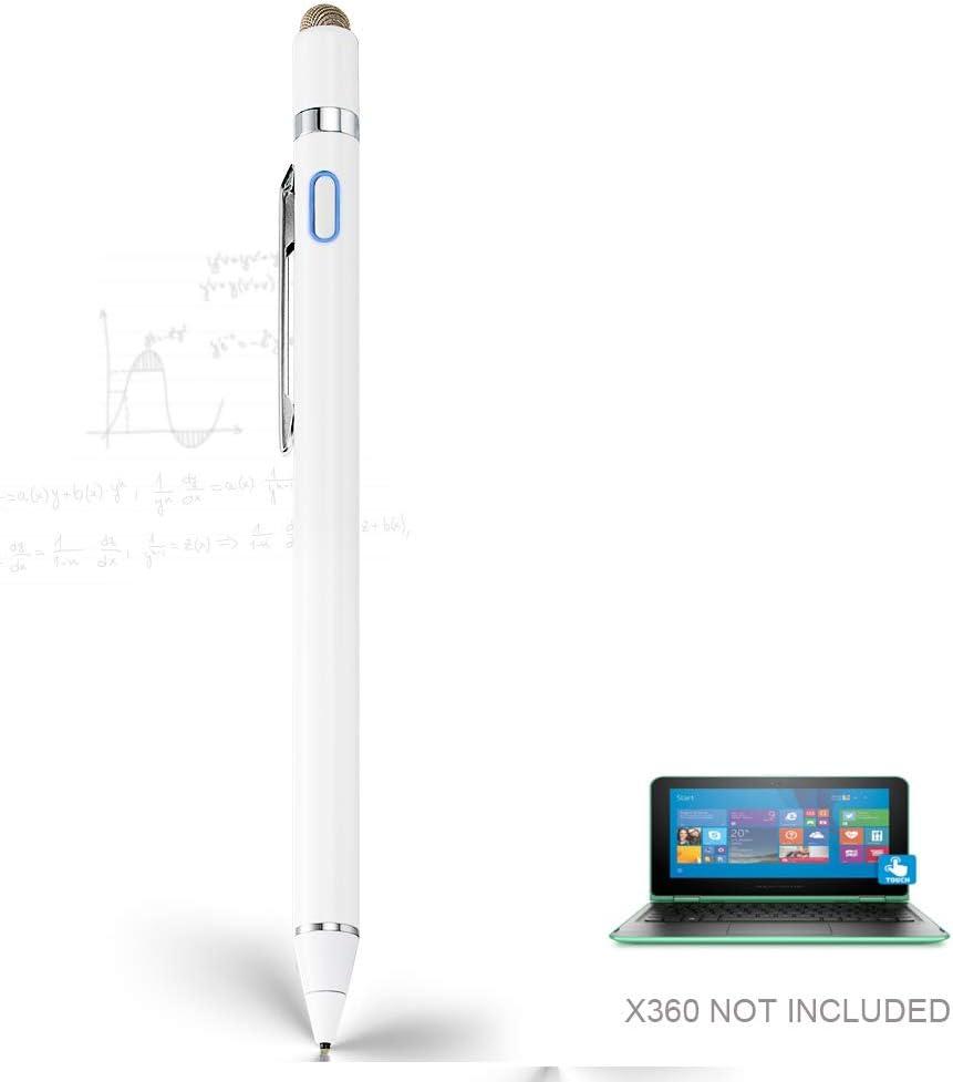 Stylus Pen for HP Pavilion X360, EDIVIA Digital Pencil with 1.5mm Ultra Fine Tip Pencil for HP Pavilion X360 Stylus, White