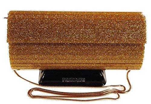 Frandami - cerimonia bag tubo glitter oro