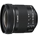 Canon EF-S 10-18mm f/4.5-5.6 IS STM + EW-73C + Lens Cloth SLR Ultra-wide lens Black - Camera Lenses (SLR, 14/11, Ultra-wide lens, 0.22 m, Canon EF-S, Manual)