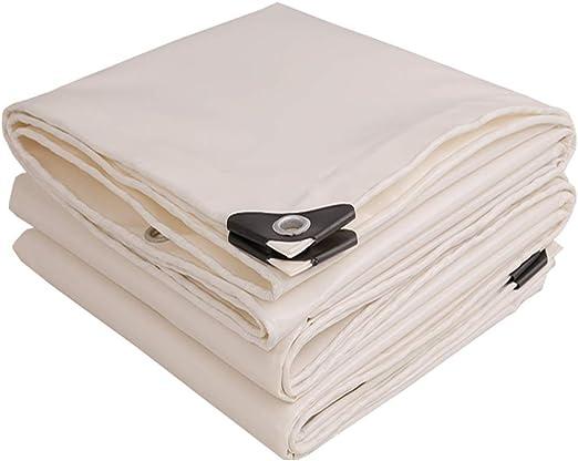 BAIYING Lona de protección Pérgola Protector Solar Espesamiento Sombra Cubrir Tela Impermeable PVC Ojal de Metal, 17 Tallas Personalizable (Color : White, Size : 3X6M): Amazon.es: Hogar