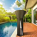 ZEJUN Patio Heater Covers Waterproof with Zipper