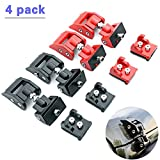 Aya-CHIC Hood Latches Hood Lock for Jeep Wrangler, Original Catch Latches Kit for Jeep Wrangler JK JL 2007-2018