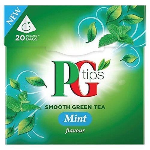 PG Tips Mint Green Tea – 20's (1.13 oz x 1) For Sale