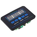Digital Temperature Controller, Heating Cooling Temperature Controller Thermostats Cycle Timer Temperature Difference Controller, Dual Relays,for Pet,Turtles,Fish Aquarium Heater,Greenhouse Planting