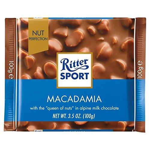 Ritter Sport Nuez de Macadamia La perfección de leche 100 g de chocolate: Amazon.es: Alimentación y bebidas