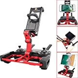 Phone Tablet Monitor Holder Stand Mount Clip For DJI Mavic Air/Pro/ Spark/Crystalsky Monitor - Red