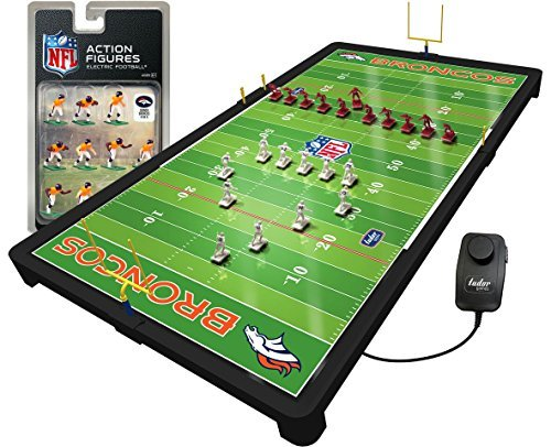 Denver Broncos NFL Deluxe NFL Deluxe B07F8FVBG2 Electric Football Game [並行輸入品] B07F8FVBG2, G-Select:cfaf22d1 --- imagenesgraciosas.xyz