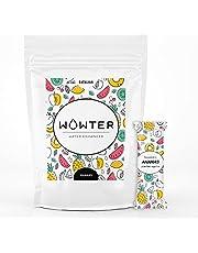 WOWTER by AMZ BETTER, Gearomatiseerd water, 12 zakjes oplosbaar poeder om water op smaak te brengen, zonder calorieën, GGO-vrij, glutenvrij, suikervrij, Made in Italy, 48 g