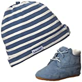 Timberland Crib With Hat Bootie (Infant/Toddler),Blue,3 M US Infant