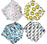 Potty Training Pants for Baby and Toddler Boys, Baby Underwear 4 Pack (100(3T), B4