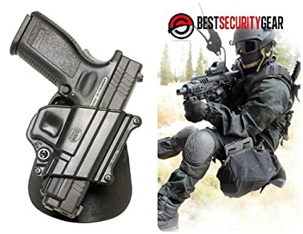 Fobus Evolution Right Hand RH PADDLE Gun Holster for Kel-Tec PF9 Sig Sauer  239 (9mm ONLY) Beretta Cheetah (will NOT fit the restyled square shaped