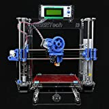 Geeetech Full Kit, Transparent Color, Acrylic Frame, Reprap Pursa I3 3D Desktop Printer