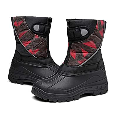 Amazon.com | DRKA Toddler Snow Boots for Kids Boy Girls