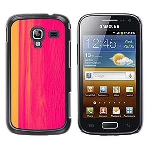 Be Good Phone Accessory // Dura Cáscara cubierta Protectora Caso Carcasa Funda de Protección para Samsung Galaxy Ace 2 I8160 Ace II X S7560M // painting abstract hot pink line waterc