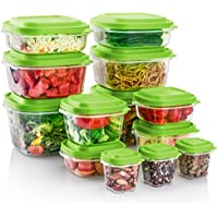 ME.FAN Multipurpose Food Storage Containers 26-Piece Set (Gress Green)