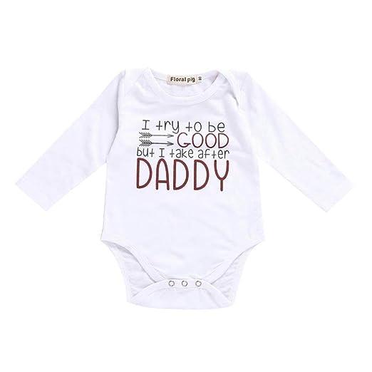 6a6d0b51710a Amazon.com  GoodLock Baby Boys Girls Fashion Romper Newborn Toddler ...