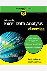 Excel Data Analysis For Dummies Kindle Edition