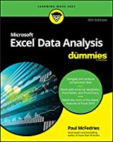Excel Data Analysis For Dummies, 4th Edition Front Cover