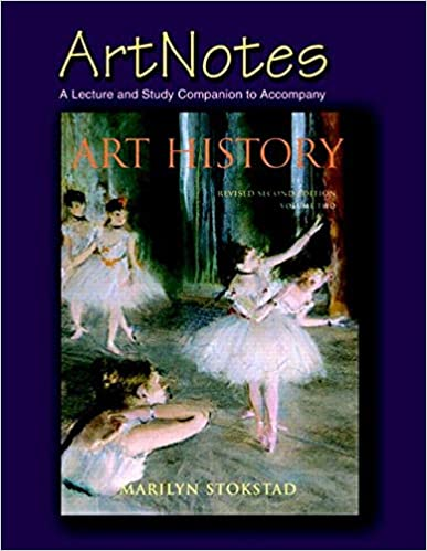 art notes a lecture study companion to accompany art history volume 2