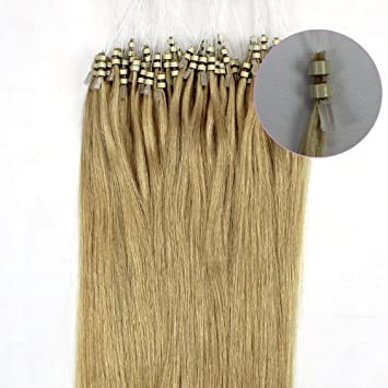 Amazon 2012 new products 18 human hair extensions remy 100s 2012 new products 18quot human hair extensions remy 100s double silicone rings beads tipped 06 pmusecretfo Image collections